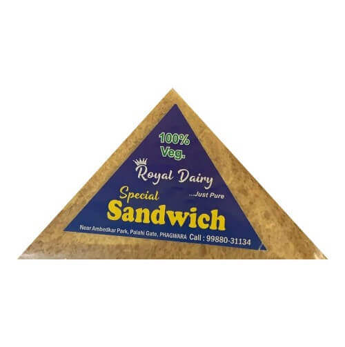 royal dairy fresh veg sandwich